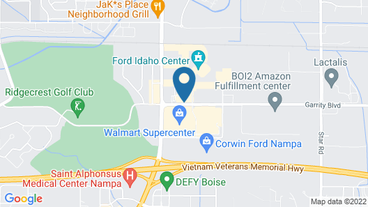 Home2 Suites by Hilton Nampa Map
