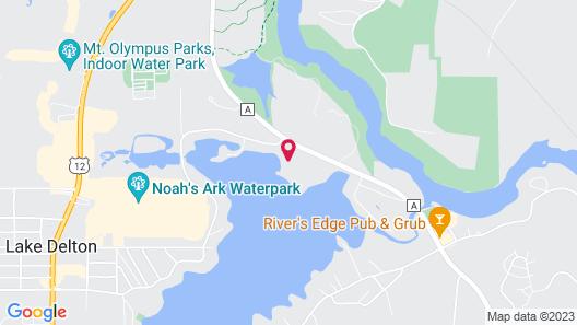 Aloha Beach Resort & Suites Map