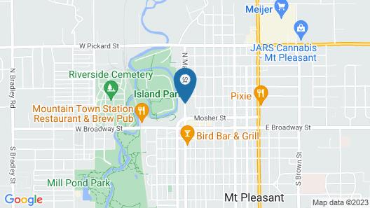 Ginkgo Tree Inn Map