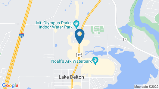 Atlantis Waterpark Hotel & Suites Map