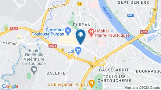 Hotel Vol de Nuit Map