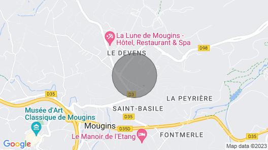 T 4 Haut DE Gamme Mougins Map