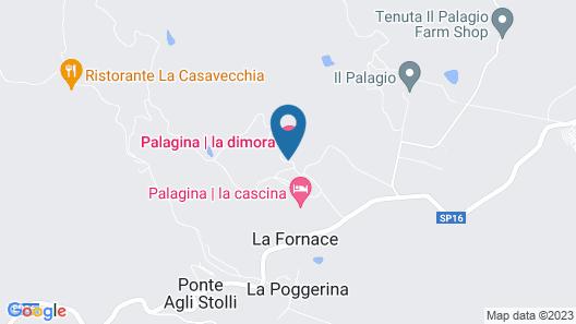 Villa la Palagina Map