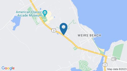 Lake Winnipesaukee Motel Map