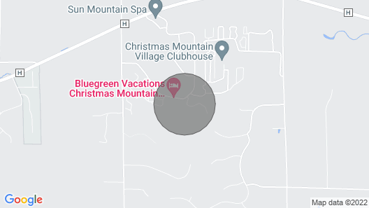 Christmas Mountain Village, Wisconsin Dells, 2 Bedroom Villa Map