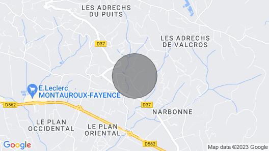 Lavender Stunning Apartment Côte D'azur Map
