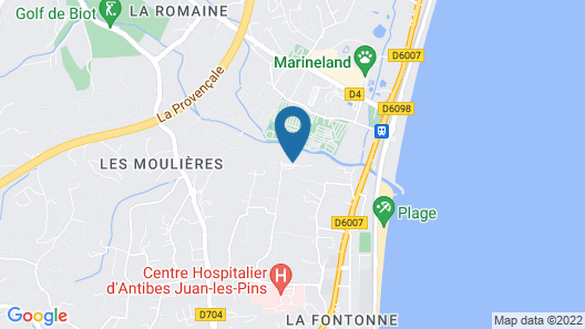 Résidence & Spa Baie des Anges by Thalazur Map