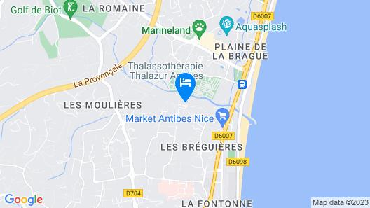 Hôtel & Spa Baie des Anges by Thalazur Map