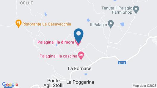 Agriturismo Fattoria  La Palagina Map
