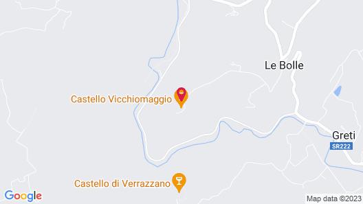 Castello Vicchiomaggio Map