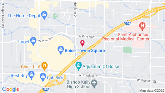 Residence Inn by Marriott Boise West Map