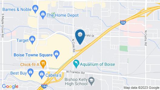 Residence Inn by Marriott Boise West Map