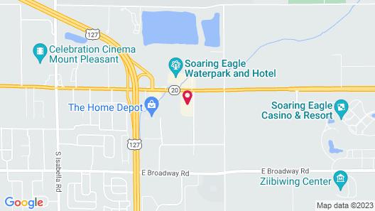 Days Inn & Suites by Wyndham Mt Pleasant Map