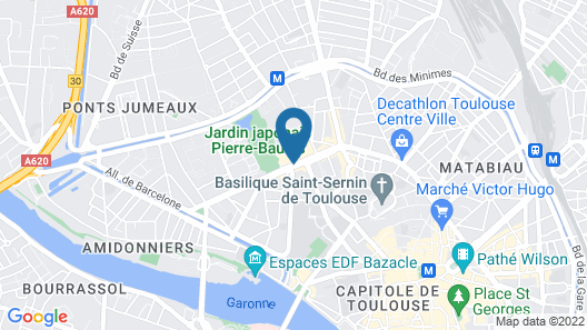 Mercure Toulouse Centre Compans Hotel Map