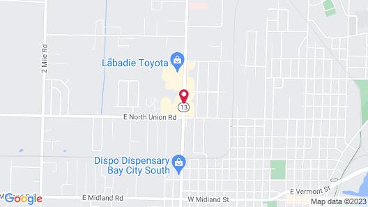 Euclid Motel Map