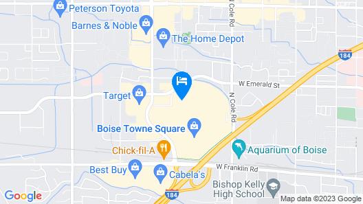 La Quinta Inn & Suites by Wyndham Boise Towne Square Map