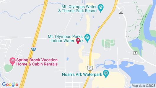 Bluegreen Vacations Odyssey Dells, an Ascend Resort Map