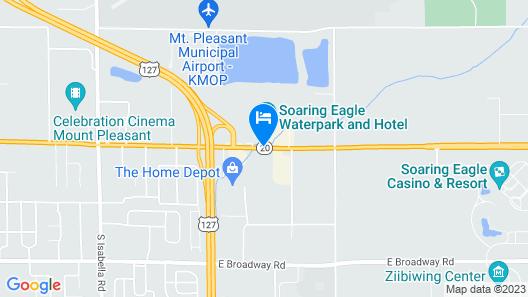 Chippewa Motel Map