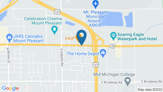 Holiday Inn Hotels and Suites Mount Pleasant, an IHG Hotel Map
