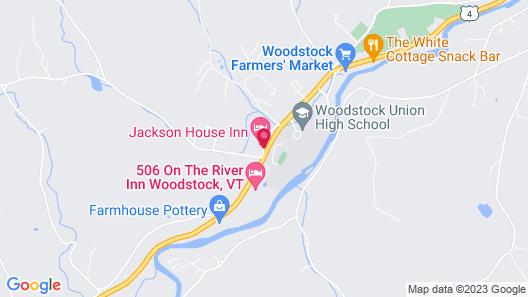 The Jackson House Inn Map