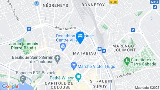 Hôtel Mermoz Map