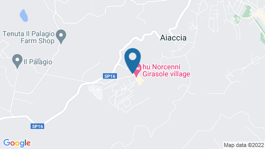 Norcenni Girasole Village Map