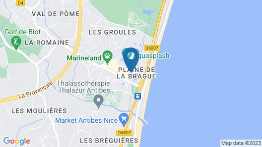 Marineland Hotel Map