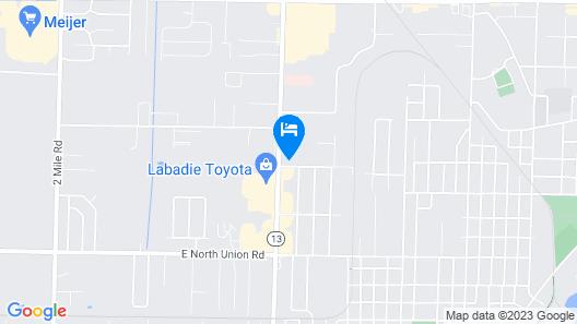 Travel Inn Map