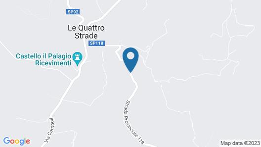 Borgo Montefolchi Map