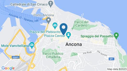Metropolitan Suites Ancona Map