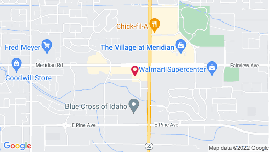 My Place Hotel-Boise/Meridian, ID Map