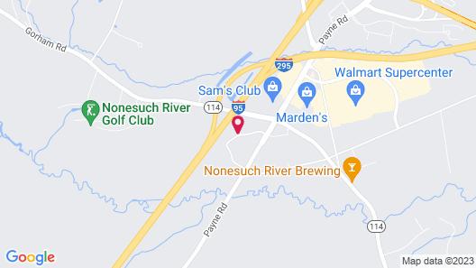 Residence Inn by Marriott Portland Scarborough Map