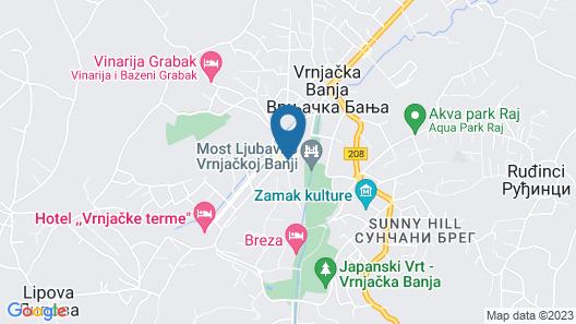 Guest House Bikica Map