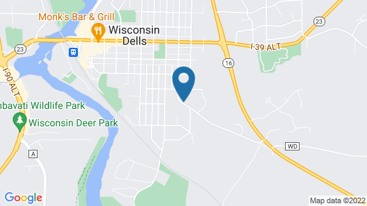 Spring Hill Motel Map