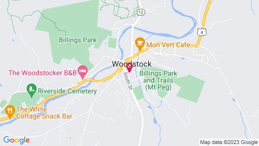 Woodstock Inn & Resort Map