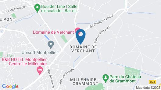 Le Domaine de Verchant Relais & Châteaux Map