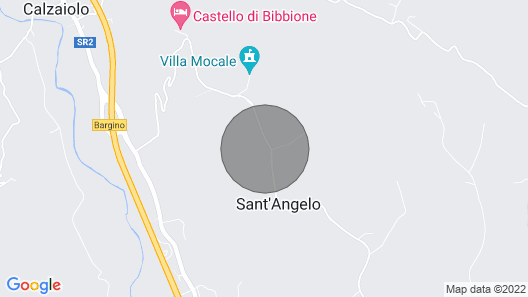 Vacation Home Smeraldo + Rubino in Montefiridolfi - 8 Persons, 4 Bedrooms Map