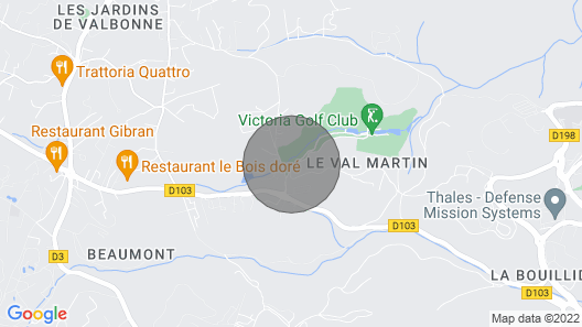 Luxury Valbonne Apartment Map