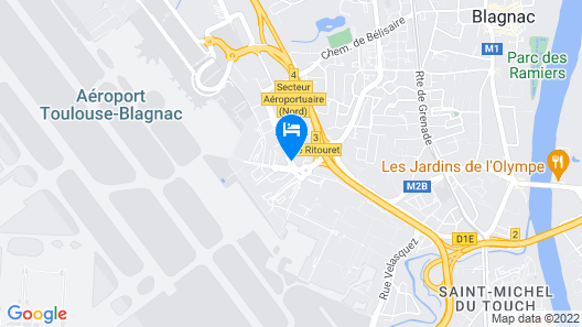 Pullman Toulouse Airport Map