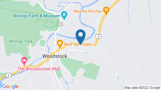 The Village Inn of Woodstock Map