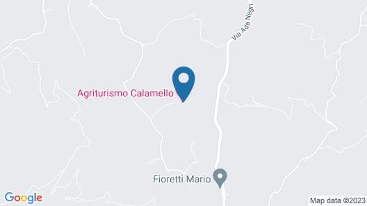 Agriturismo Calamello Map