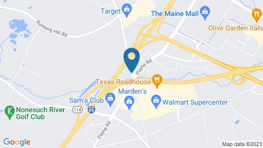 Fairfield Inn By Marriott Portland Maine Mall Map
