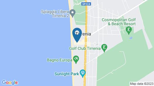Continental Resort Map