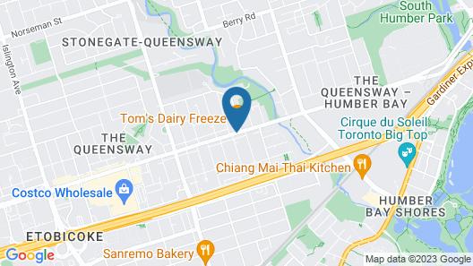 Queensway Motel Map