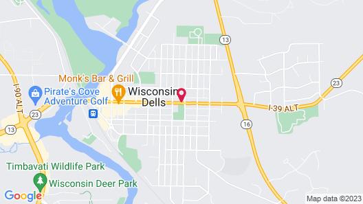 Starlite Motel Map
