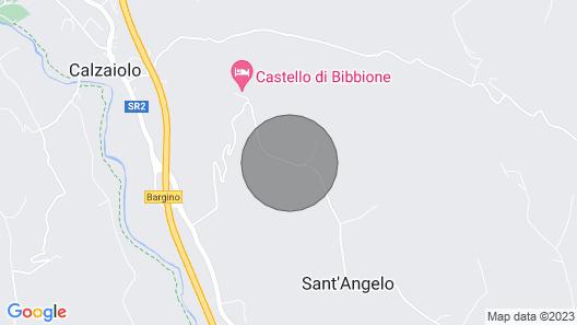 Villa Borromeo in Florence Area, Tuscany Map