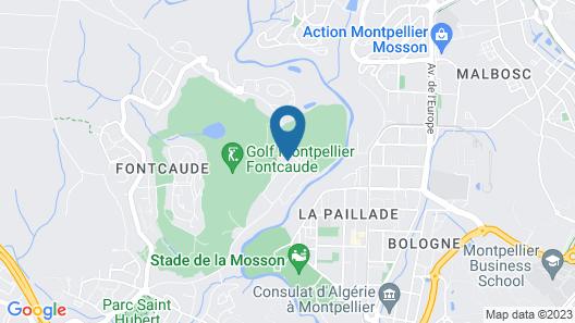 Hôtel SPA de Fontcaude Map