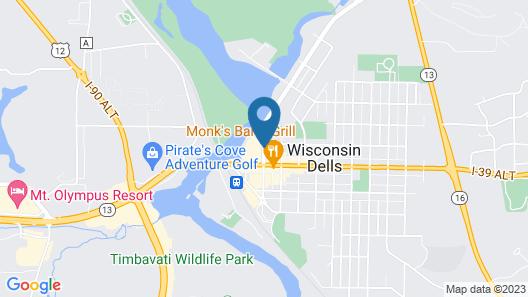 River Road Motel Map