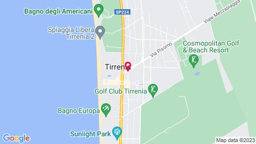 Beverly Park Residence Map