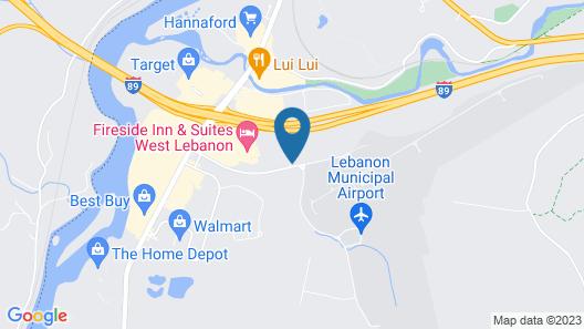 Best Western West Lebanon-Hanover Hotel Map